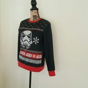 Star wars holiday Stormtrooper Sweater